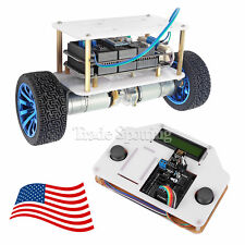 SainSmart InstaBots 2-Wheels Self-Balancing Upright Rover Car V3 for Arduino US