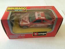 BBURAGO BURAGO PEUGEOT 405 SAFARI COD. 4190 ANNEE 1983 ECHELLE 1/43 EN BOITE