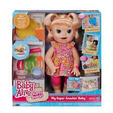 Baby Alive Snackin Sara Blonde