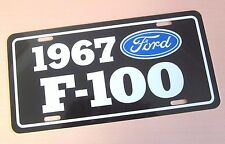 1967 Ford F-100 Pickup License plate tag 67  F100 Pick Up Truck Hot Rod Classic