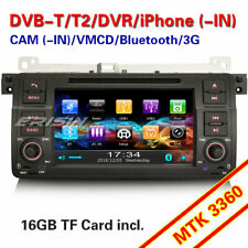 Autoradio GPS TNT USB Bluetooth CD 3G BMW 3 Series E46 M3 318 320 Rover 75 MG ZT