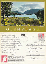 1993 GLENVEAGH COUNTY DONEGAL IRELAND COLOUR POSTCARD