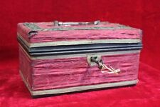 Old Vintage Antique Brass Jewellary Box Home Decor Decorative Collectible PK-96