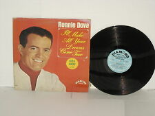 RONNIE DOVE I'll Make Your Dreams Come True LP Kiss Away Put My Mind At Ease