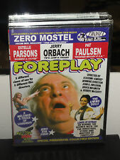 Foreplay (DVD) Special Presidential Collectible Edition! Troma DVD! BRAND NEW!