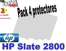 "Pack 4 Protectores de pantalla para tablet HP SLATE 2800 7"" UNIVERSAL"