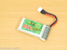 MG Power Lipo Battery 3.7V 400mAh 25C for Walkera Mini CP Super CP/ FP Ladybird