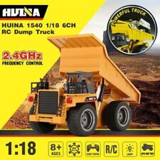 HUINA TOYS 1540 1:18 2,4G 6CH CAMION RC - CASSONE SOLLEVABILE - CON 2 BATTERIE