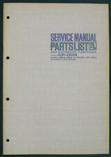 AKAI Model ap-004 Original Turntable service-manual/Diagram/Parts list o172