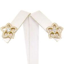 NUEVO 18ct Oro Amarillo 1.50ctw Diamante Brillante Abierto Estrella