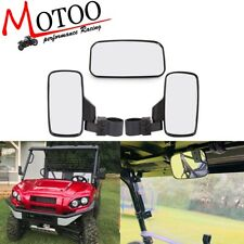 4 PANEL REAR VIEW MIRROR POLARIS RZR 900 800 KUBATA 4X4 TRANS 4 WIDE ANGLE UTV