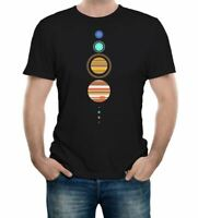 Solar System T-Shirt - Funny t shirt space astronomy fashion retro planets cool