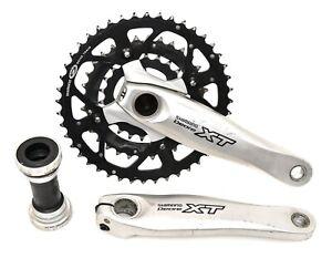 Shimano Deore XT FC-M760 3x 9s Mtb Bike Crankset 44/32/22T 170mm Vintage Triple