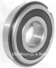 2 PCS    6203 RS NR Sealed Snowblower Bearings With Snap Ring 17x40