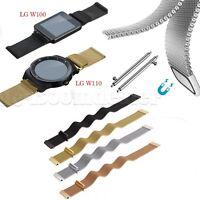 Luxury Milanese Loop Wrist Watch Band for LG G Watch W100 W110 Smart Watch