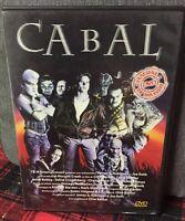 Cabal DVD Clive Barker Edizione Storm Ex Noleggio Come Da Foto N