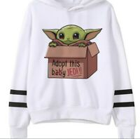 Baby Yoda in a box Hoodie Men/Women Star Wars Mandalorian