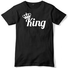 King And Crown Mens Funny Unisex T-Shirt
