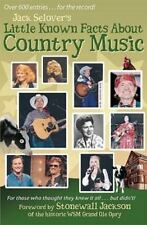 Little Known Facts about Country Music (Paperback or Softback)