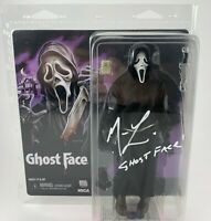 Matthew Lillard Autographed Scream Ghost Face Neca Figure Signed Beckett COA