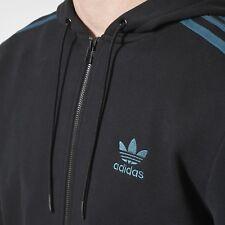 Adidas Originals Zip Up Hoody Size UK Medium Brand New With Tags Black