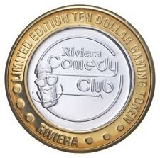 .999 Silver CNTR Riviera Hotel Casino Chip LTD ED $10 Token Approx 0.6 T Oz *715