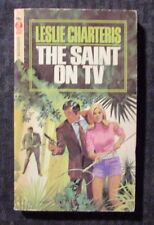 1968 THE SAINT ON TV by Leslie Charteris - Curtis Paperback FVF