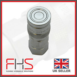 FLAT FACED QUICK RELEASE CARRIER  COUPLING FEMALE MANULI