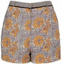 Topshop Floral Tailored Shorts for Women