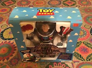 Disney Intergalactic Chrome Ultimate Buzz Lightyear Talking Action Figure, 1995