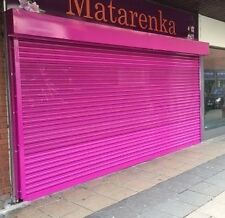 Electric Operation Roller Shutter Doors 1500 x 2200mm