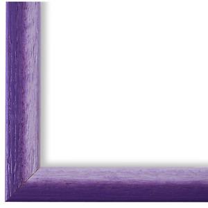 Bilderrahmen Violett Weiss Pinerolo 2,3 - 10x15 13x18 15x20 18x24 20x20 20x30