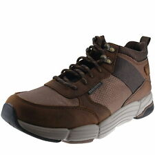 Skechers Relaxed Fit: Metco Dark Brown Cdb Mens Ankle Hi Boot Size 9M