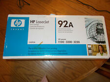 HP LASERJET PRIINT CARTRIDGE 1100-3200-3220 MODEL 92A BRAND NEW SEALED IN BOX