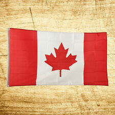 New 3x5 National Canada Canadian Maple Leaf Flag Polyester Banner