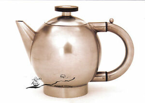 Kunst- Doppelkarte  - BAUHAUS  - Slutzky:  Teekanne