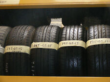 195 65 15 PART WORN TYRE 6mm FULLY FITTED -- SPECIAL 2 FOR £35
