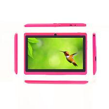 iRULU 7 Zoll Tablet PC 8GB Android 4.4 Quad Core Dual Kamera HD Screen WiFi Pink