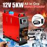 Tutto In Uno 12V 5KW Parcheggio Riscaldatore Aria Diesel Air Heater Quattro Fori
