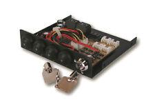 Exsys EX-3466-2 - Festplattenumschalter von 1x SATA 3 bis 4x SATA 3 Festplatten