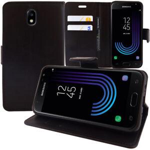 Etui Housse Coque Portefeuille Rabat pour Samsung Galaxy J3 (2017) J330F/DS