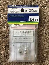 Brand New Microheli Precision CNC Aluminum Main Blade Grip Set for Blade MCP X!!