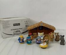 Fisher-Price Little People Nativity Set 2002 With Box 77620
