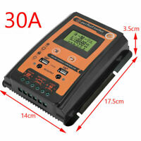 12/24V 30A PWM MPPT Solar Charger Controller Panel Battery Regulator