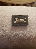 Star Wars: Flight of the Falcon Nintendo Game Boy Advance GBA VIDEO GAME CART