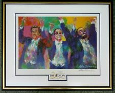 LEROY NEIMAN - THE THREE TENORS - LARGE 1996 HAND SIGNED PRINT - CUSTOM FRAME