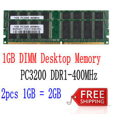 2GB KIT 2 x 1GB For HP Compaq Business dc5150 dc7100 dx2000 PC3200 Ram Memory