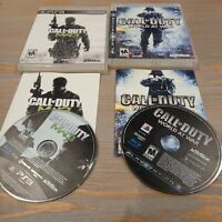 Lot of 2 Call of Duty PS3 Playstation 3 Sony Games - World at War & MW3 Warfare