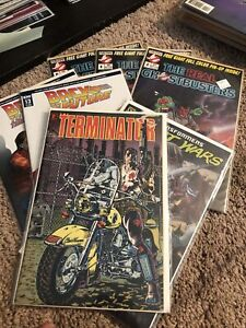The Real Ghostbusters  NOW issues #2 4 6 1988 Terminator 7 Comic lot NM