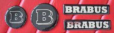4pcs hood trunk lid fender emblem badge brabus w210 w208 w209 w211 w221 r107
